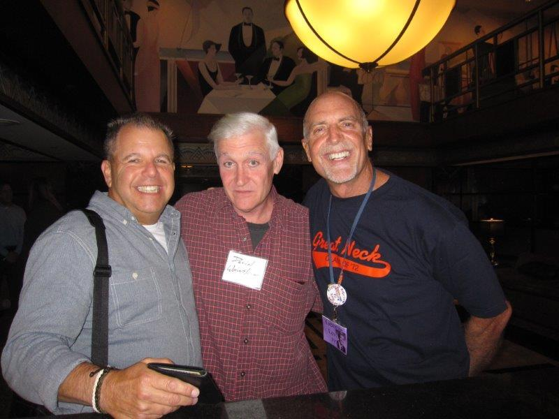 Old Friends Thom, David, George