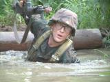 Number 2 son training for Officer school USMC