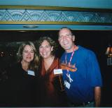 Me, Leeor Sabbah & George Levien At the 50th Birthday Bash 2004