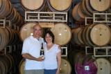 Barbara and I at Winward Winery in Paso Robles 2007.