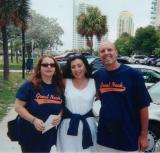 Andrea Stempler, Myself & George Levien 2002